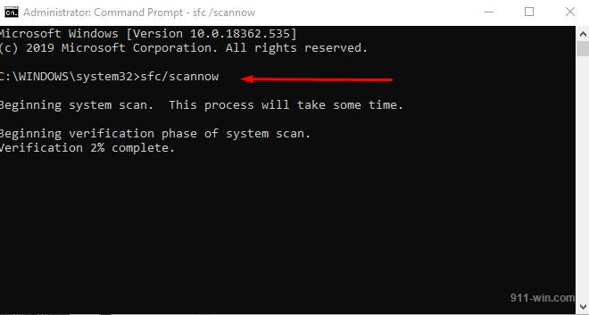 In Command Prompt etner and execute command: sfc/scannow