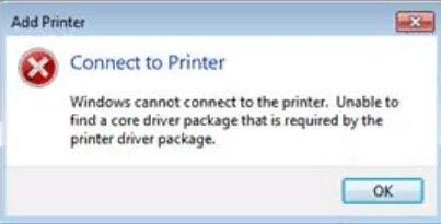 Connect to Printer error hpw to Fix